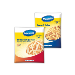 Mondelle Frozen French Fries 9x9mm and 6x6mm