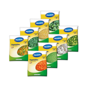 Mondelle Frozen vegetables packaging 2.5 KG