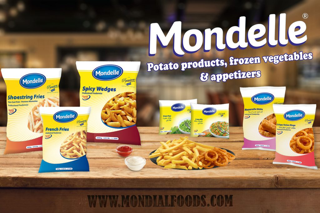 Brands for Dairy products, Vegetables and French fries