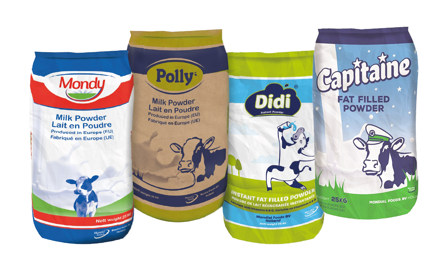 Dairy products from Europe