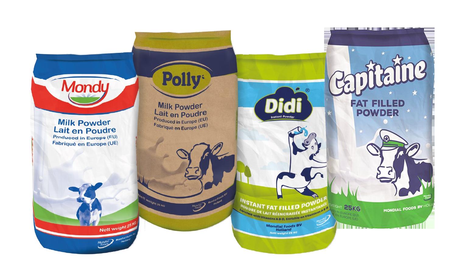 Mondial Foods Milkpowders