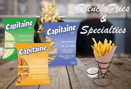 Capitaine French fries and specialties