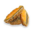 Breaded Green Jalapeño with Cheddar cheese mix